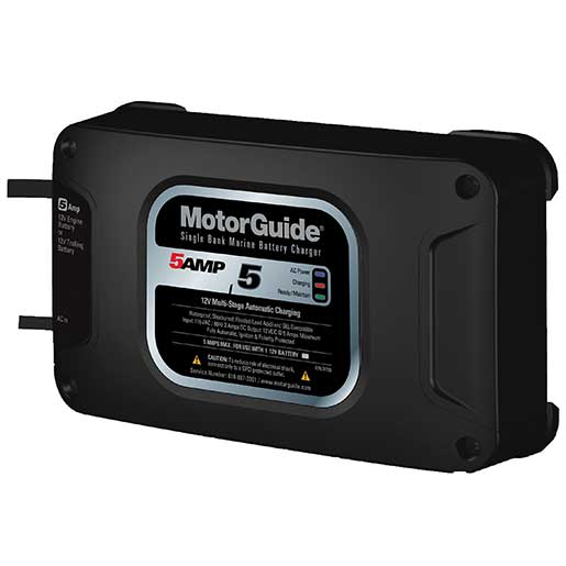 Motorguide Dual Bank 10A OnBoard Battery Charger