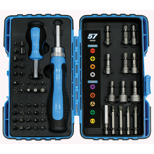Channellock 57-Piece MaxTorque Ratcheting Driver Set