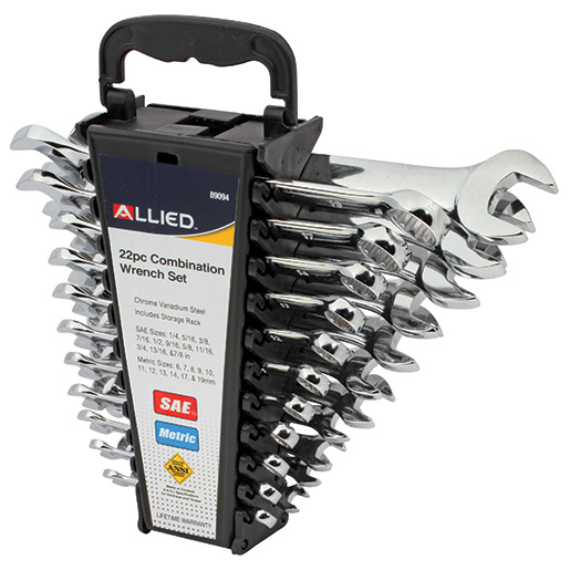 Allied International 22-Piece Combination Wrench Set