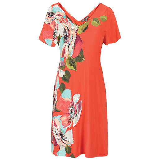 TOMMY BAHAMA Womens Madalena Rose Dress