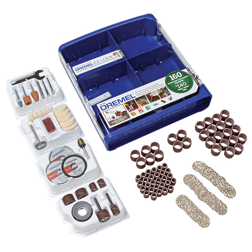 Dremel 160-Piece All-Purpose Accessory Kit