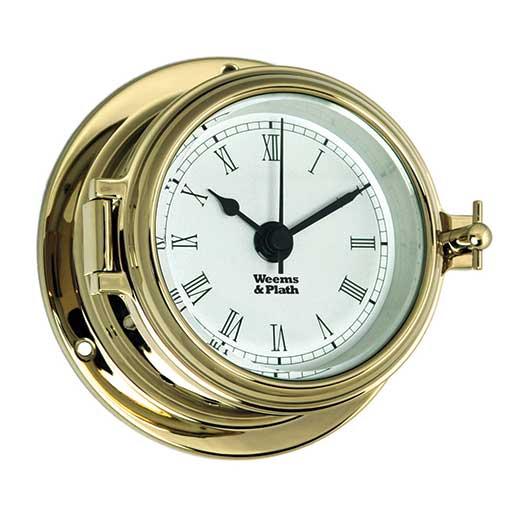 Weems & Plath Endurance II 105 Quartz Clock with Roman Numerals