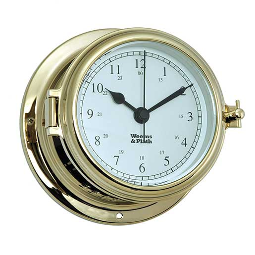 Weems & Plath Endurance II 115 Quartz Clock, Brass Sale $169.99 SKU: 15914302 ID# 510500 UPC# 721002007490 :