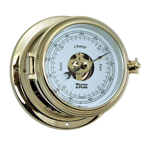 Weems & Plath Endurance II 115 Open Dial Barometer, Brass Sale $179.99 SKU: 15914328 ID# 510733 UPC# 721002007544 :