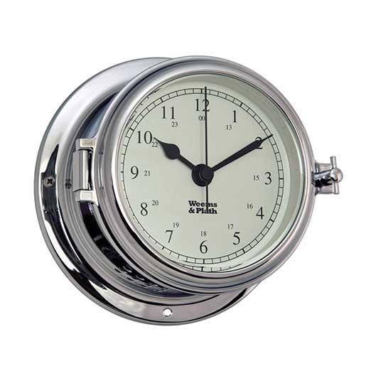 Weems & Plath Endurance II 115 Quartz Clock, Chrome Sale $169.99 SKU: 15914351 ID# 560500 UPC# 721002007506 :