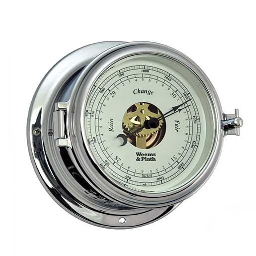 Weems & Plath Endurance II 115 Open Dial Barometer, Chrome Sale $179.99 SKU: 15914369 ID# 560733 UPC# 721002007551 :