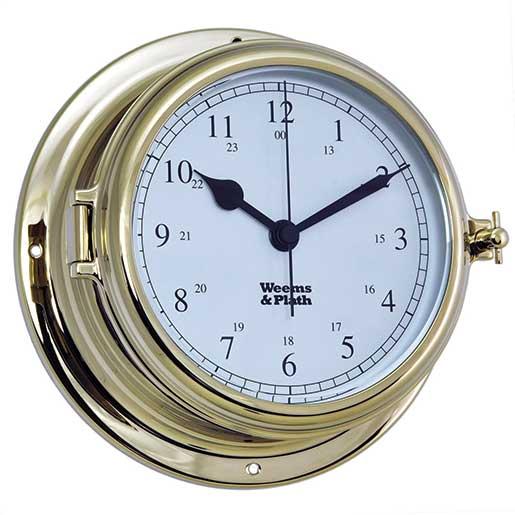 Weems & Plath Endurance II 135 Quartz Clock, Brass Sale $199.99 SKU: 15914385 ID# 950500 UPC# 721002007599 :