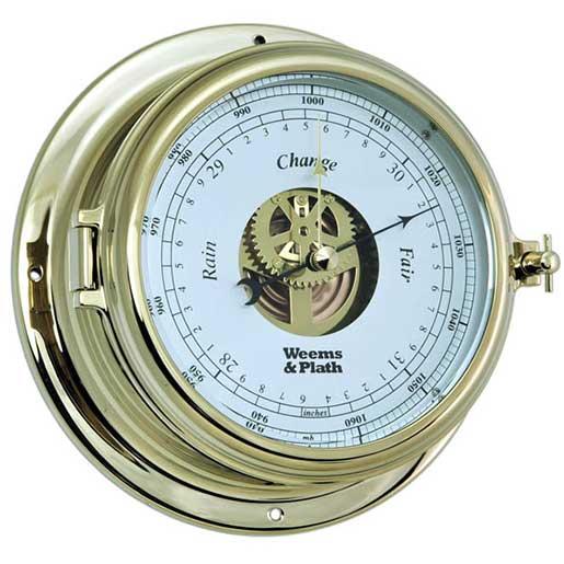 Weems & Plath Endurance II 135 Open Dial Barometer, Brass Sale $209.99 SKU: 15914427 ID# 950733 UPC# 721002007674 :