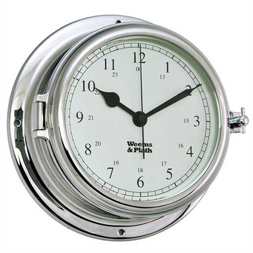 Weems & Plath Endur II 135 Chrome Quartz Clock Sale $199.99 SKU: 15914450 ID# 960500 UPC# 721002910103 :