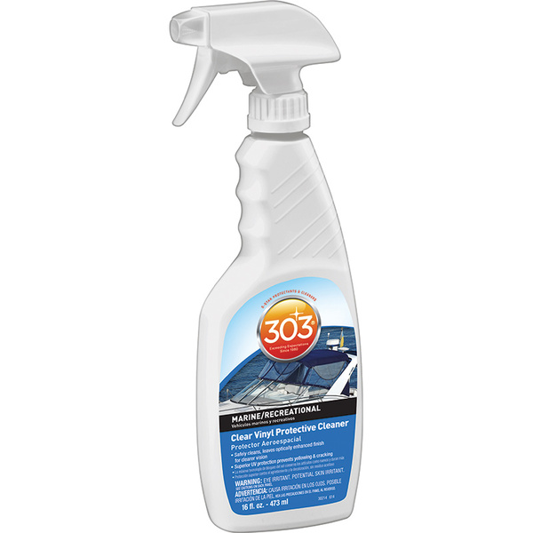 303 Products Clear Vinyl Protective Cleaner, 16oz.
