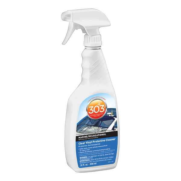303 Products Clear Vinyl Protective Cleaner, 32oz. Sale $14.49 SKU: 15915507 ID# 30215 UPC# 82043302150 :
