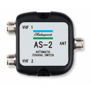 Shakespeare Automatic Two-Way Antenna Selector Sale $89.99 SKU: 159389 ID# AS-2 UPC# 719441150952 :