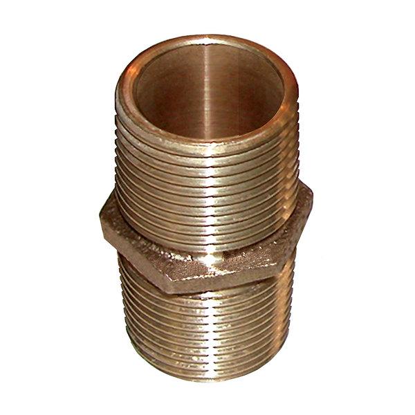 Groco 4 Cast Bronze Pipe Nipple