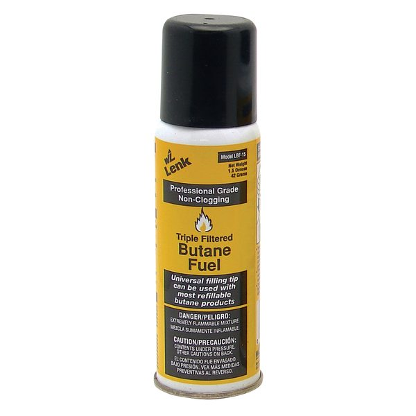 Wall Lenk Corporation Professional-Grade Butane Fuel 6.4oz