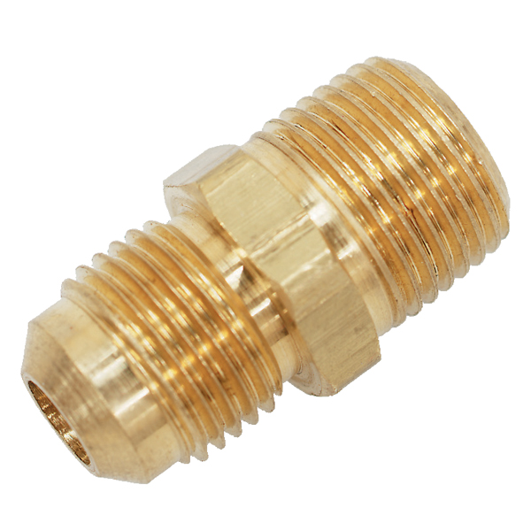 Trident Rubber 3/8 Male Flare to 3/8 Male NPT Propane Adapter Sale $3.69 SKU: 1594357 ID# 600-3838 UPC# 704917000909 :