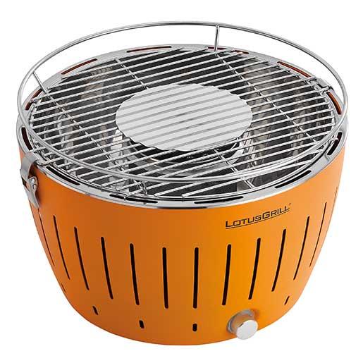 Lotus Grill Smokeless Grill, Orange