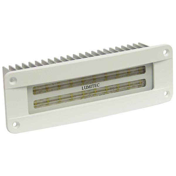 Lumitec Flush Mount Maxillume2, White Powder Coated