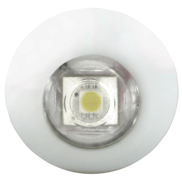 Lumitec Lighting Exuma Powder-Coated Stainless Steel LED Accent Light, White