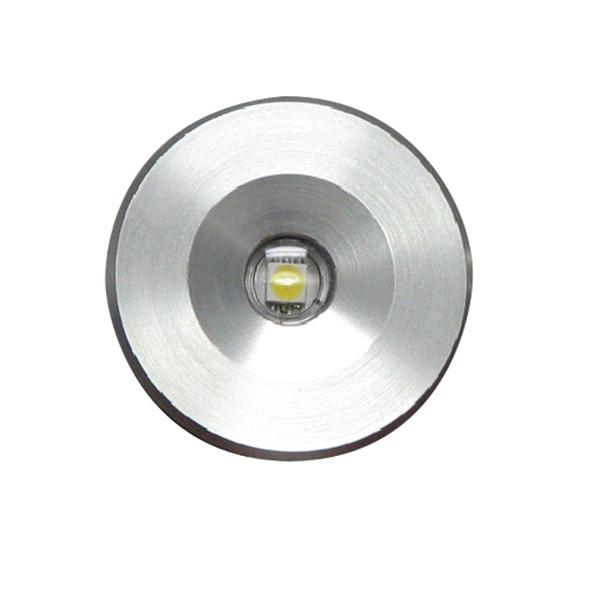 Lumitec Lighting Echo Recessed LED Accent Light, White