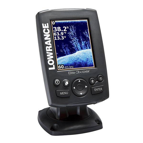 Lowrance Elite-3x DSI Color Fishfinder with 455/800kHz Transducer