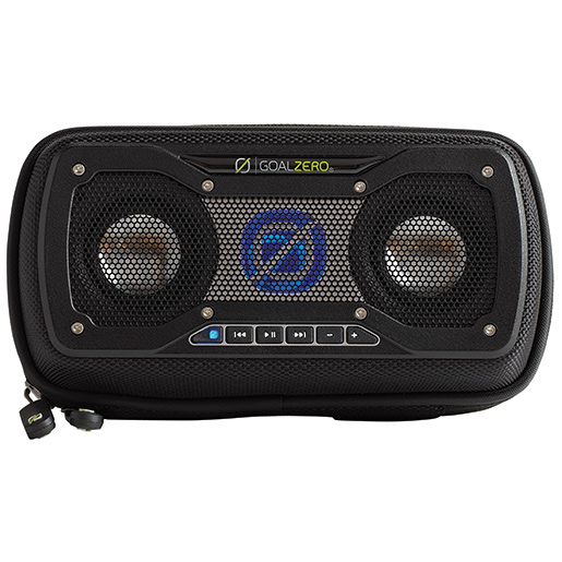 Goal Zero Rock Out 2 Solar Rechargeable Speaker—Black
