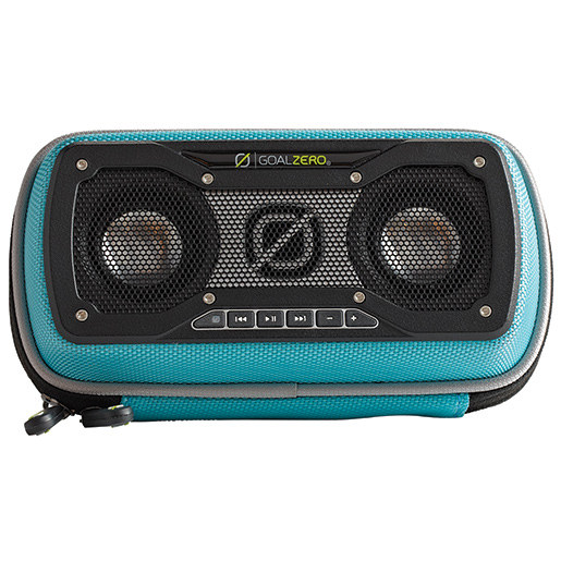 Goal Zero Rock Out 2 Solar Rechargeable Speaker—Teal
