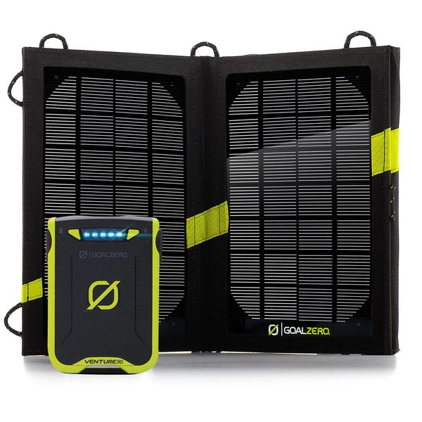 Goal Zero Venture 30 Solar Recharger Kit