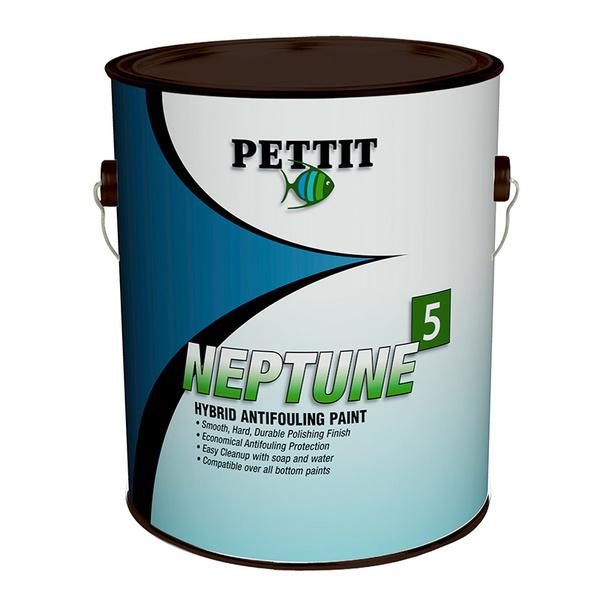 Pettit Paints Neptune5 Hard Hybrid Thin Film Antifouling Paint, Blue, Gallon
