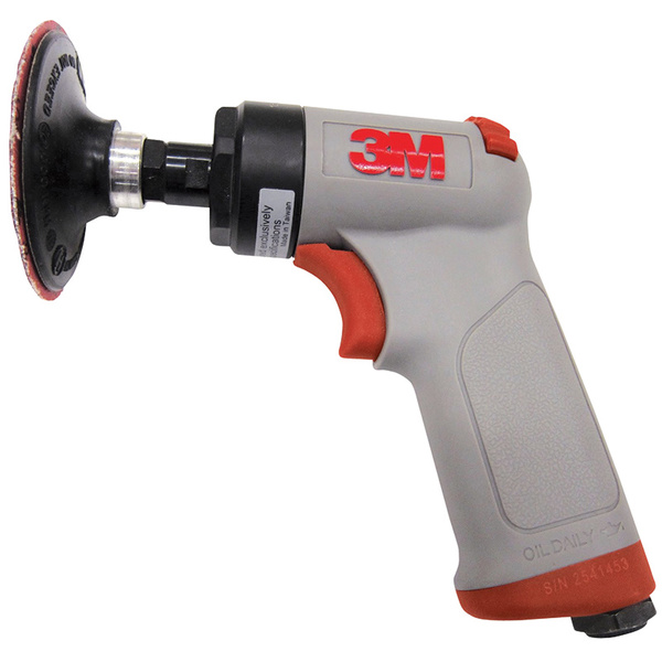 3M Pneumatic Pistol Grip 3 Disc Sander
