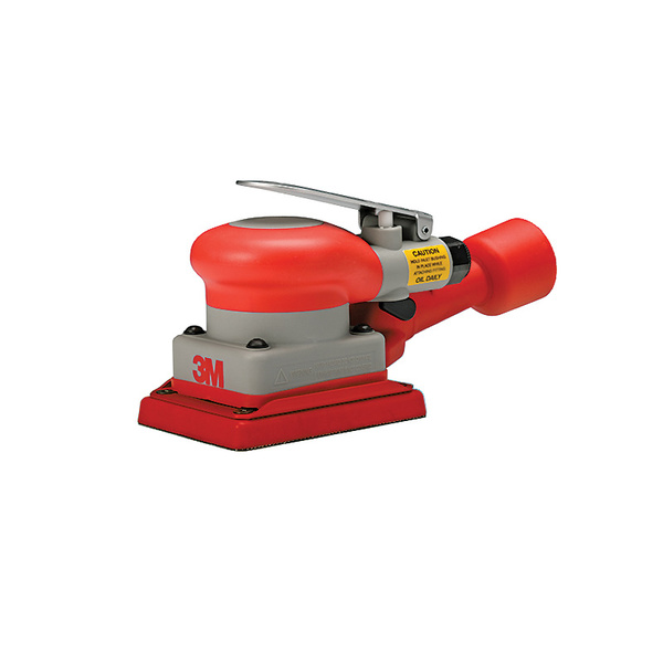 3M Pneumatic Rectangular Orbital Sander with Self-Generating Vacuum