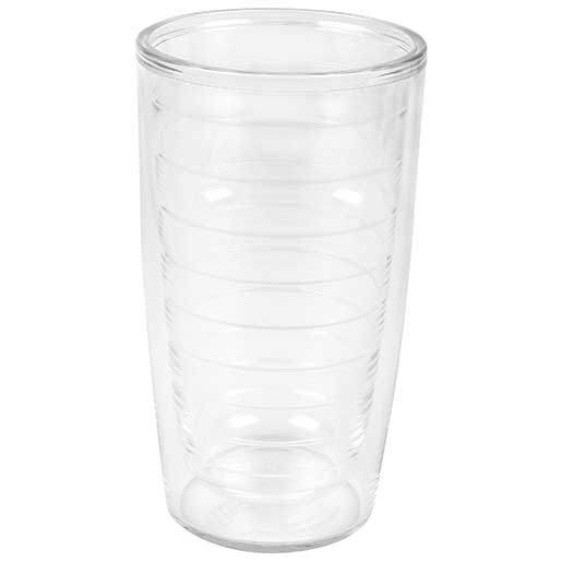 Tervis Clear Tumblers, 4 pack, 16oz.
