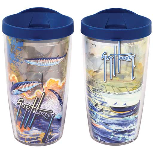 Tervis Guy Harvey Tumblers, 2 pack, 16oz.