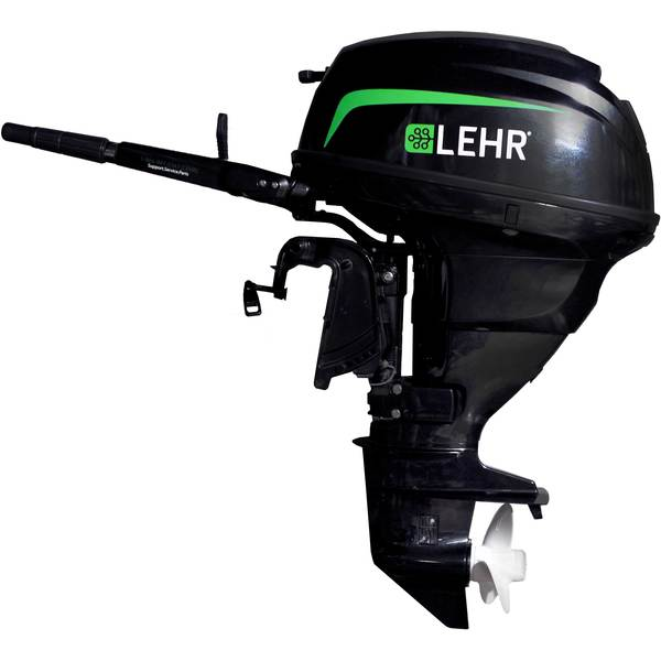 Lehr 25hp propane powered outboard engine short shaft for Best price on outboard motors