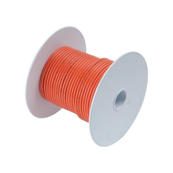 Ancor Gauge: 14 AWG; 100' Spool, Orange