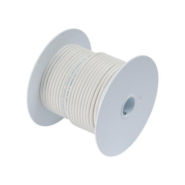Ancor Gauge: 12 AWG; 100' Spool, White Sale $49.99 SKU: 290841 ID# 106910 UPC# 91887107043 :