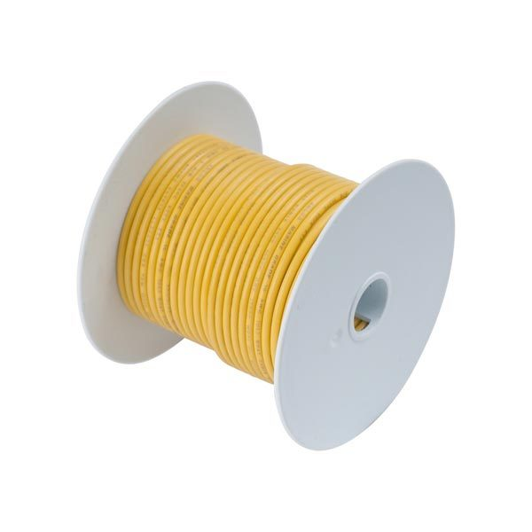 Ancor Gauge: 12 AWG; 100' Spool, Yellow Sale $49.99 SKU: 102220 ID# 107010 UPC# 91887107081 :