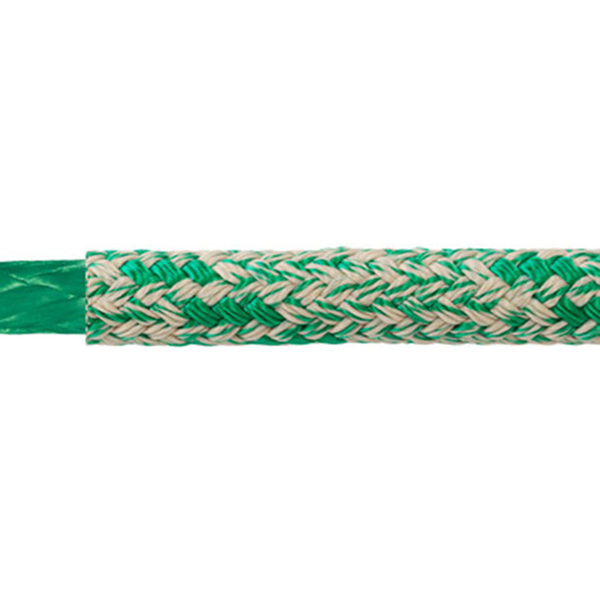 Samson Rope 8mm WarpSpeed II Double Braid, 6,200lb. Breaking Strength, Green