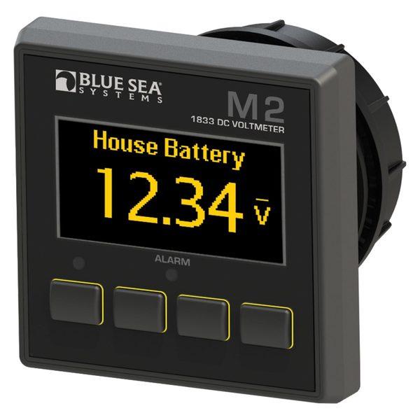 Blue Sea Systems M2 OLED Digital Monitors, DC Voltmeter Sale $224.99 SKU: 16016099 ID# 1833 UPC# 632085018337 :
