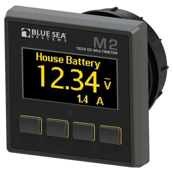 Blue Sea Systems M2 OLED Digital Monitors, DC Multimeter Sale $274.99 SKU: 16016107 ID# 1834 UPC# 632085018344 :