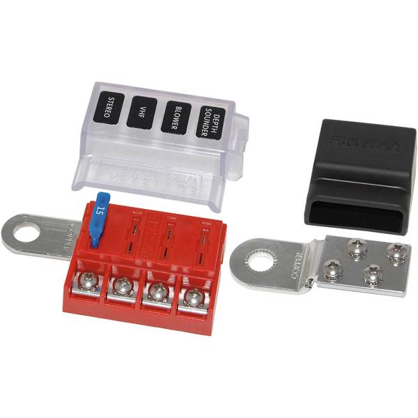 Fuse Box Screw In Fuses : Blue sea systems st blade battery terminal mount fuse