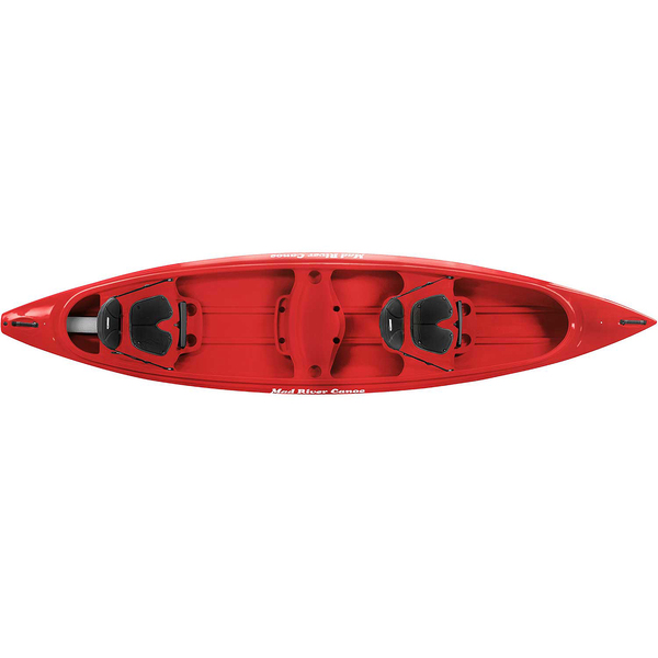 Mad River Adventure 14 Canoe, Red