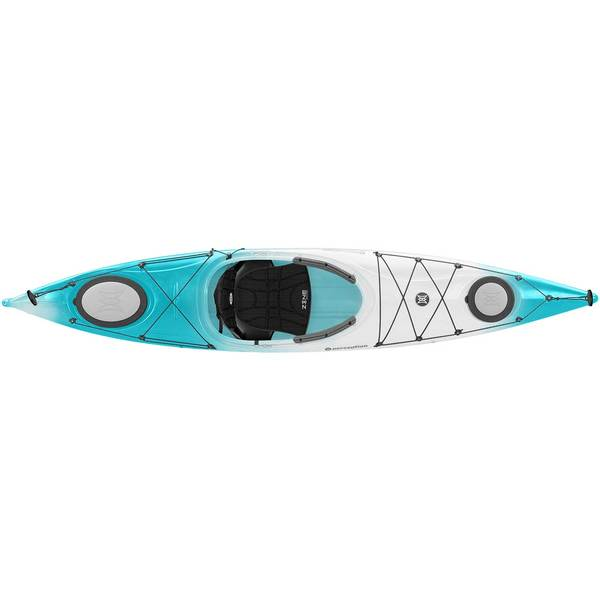 Perception Carolina 12.0 Sit-Inside Kayak, Turquoise/White