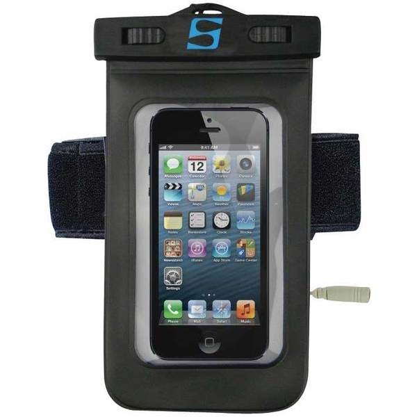 Surfstow Large Phone Waterproof Case with Armband and Headphone Jack