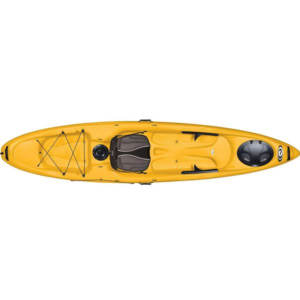 ELIE Coast 120 XE Sit-On-Top Kayak, Yellow/White