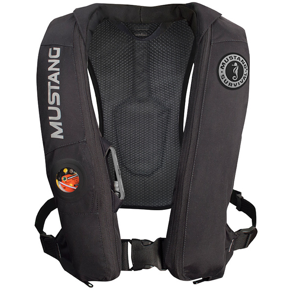 Mustang Survival Elite Life Vest with Automatic Inflation, Black Sale $259.99 SKU: 16124539 ID# MD5183-BK UPC# 62533128705 :