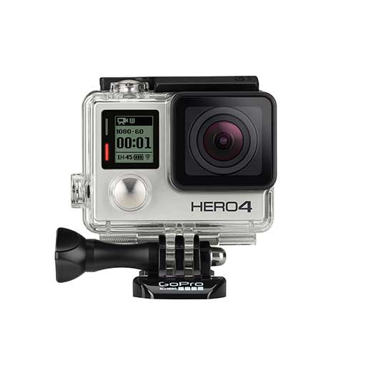 Gopro Hero4 Silver Edition Waterproof Video Camera