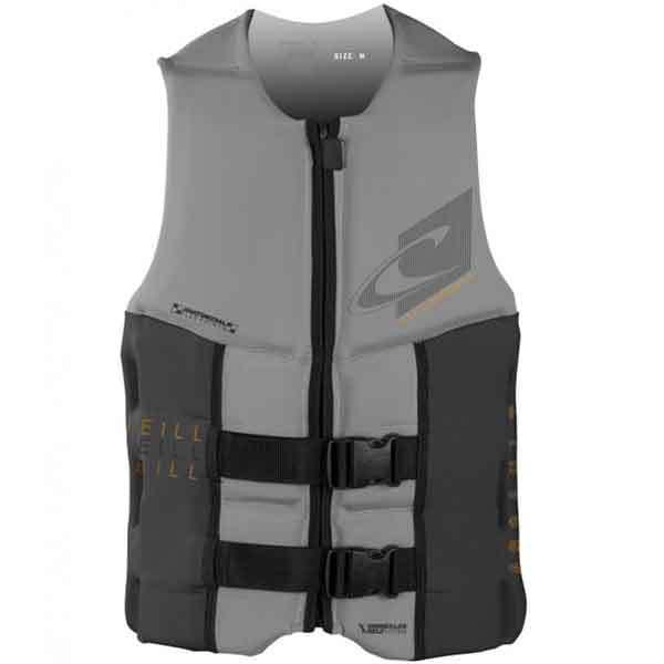 O'neill Assault USCG Vest, Gray/Charcoal, Medium Sale $99.99 SKU: 16206740 ID# 4498-AJ9-M UPC# 603731302858 :