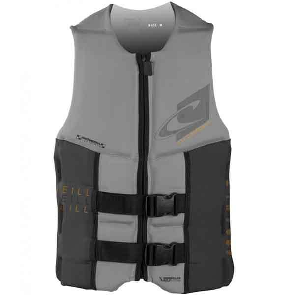 O'neill Assault USCG Vest, Cray/Charcoal, 3XL Sale $99.99 SKU: 16206781 ID# 4498-AJ9-3XL UPC# 603731303053 :