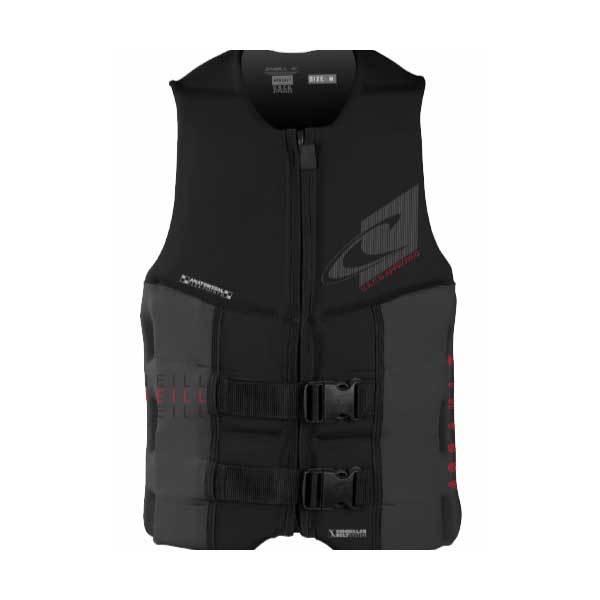 O'neill Assault Watersports Life Vest, Black/Chalk, Large Sale $99.99 SKU: 16206914 ID# 4498-B82-L UPC# 603731302834 :