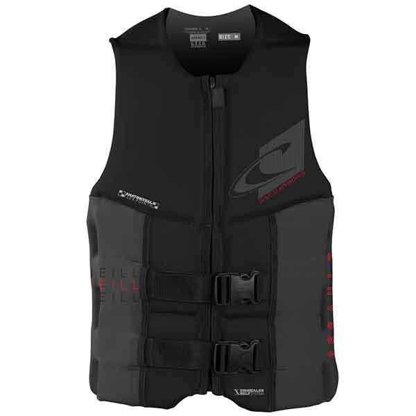 O'neill Assault USCG Vest, Black/Charcoal, Extra Large Sale $99.99 SKU: 16206948 ID# 4498-B82-XL UPC# 603731302988 :